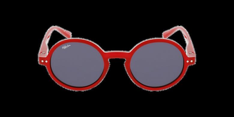 Óculos de sol criança COMO RD vermelhoVista de frente