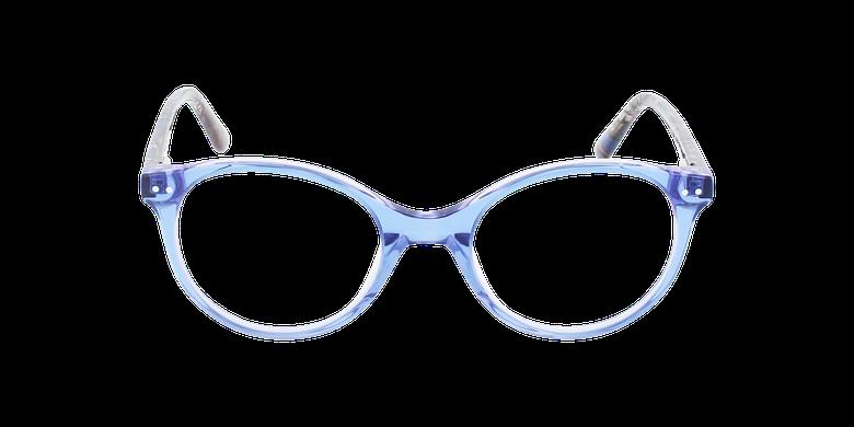 Lunettes de vue enfant ELIANA bleu/violetVue de face