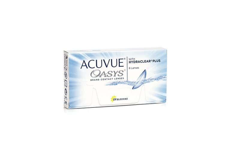 Lentilles de contact Acuvue® Oasys® with Hydraclear® Plus 6L