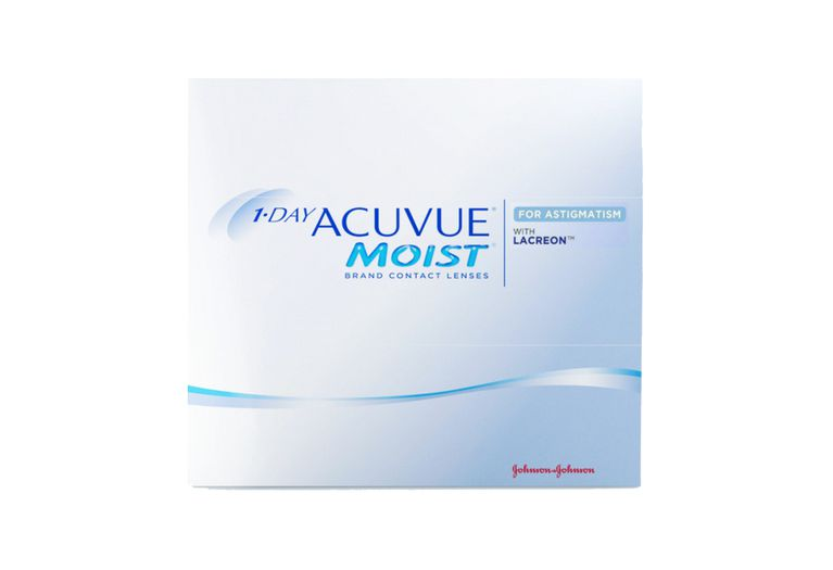 Lentilles de contact 1 Day Acuvue® Moist® for Astigmatism 90L