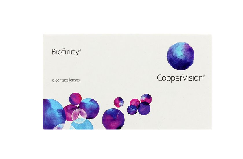 Lentilles de contact Biofinity® 6L - vue de face
