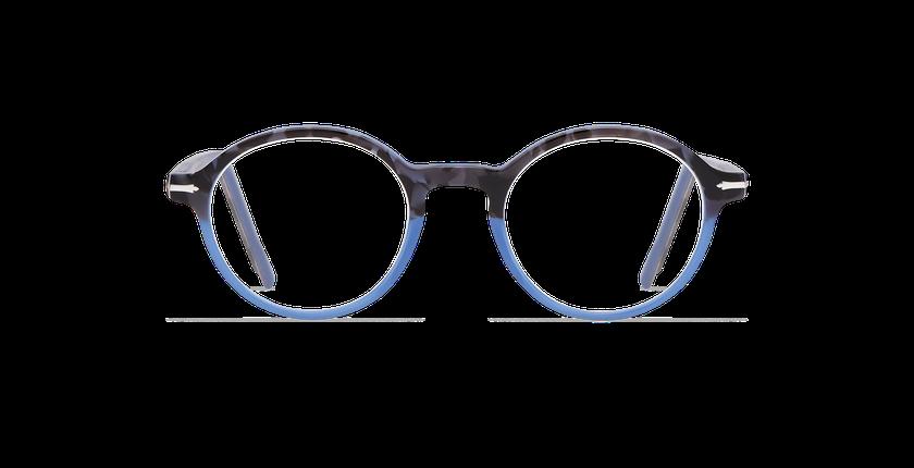 Gafas graduadas hombre MORBIER carey/azul - vista de frente