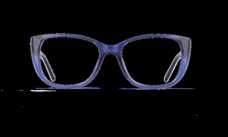 Lunettes de vue femme GRACE bleu