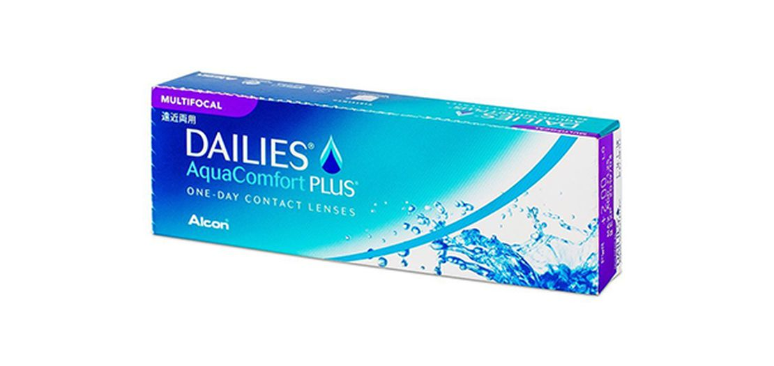 Lentilles de contact Dailies AquaComfort Plus Multifocal