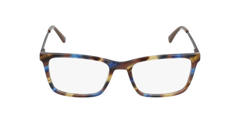 Óculos graduados homem MARC BL (TCHIN-TCHIN +1€) azul/castanho - Vista de frente