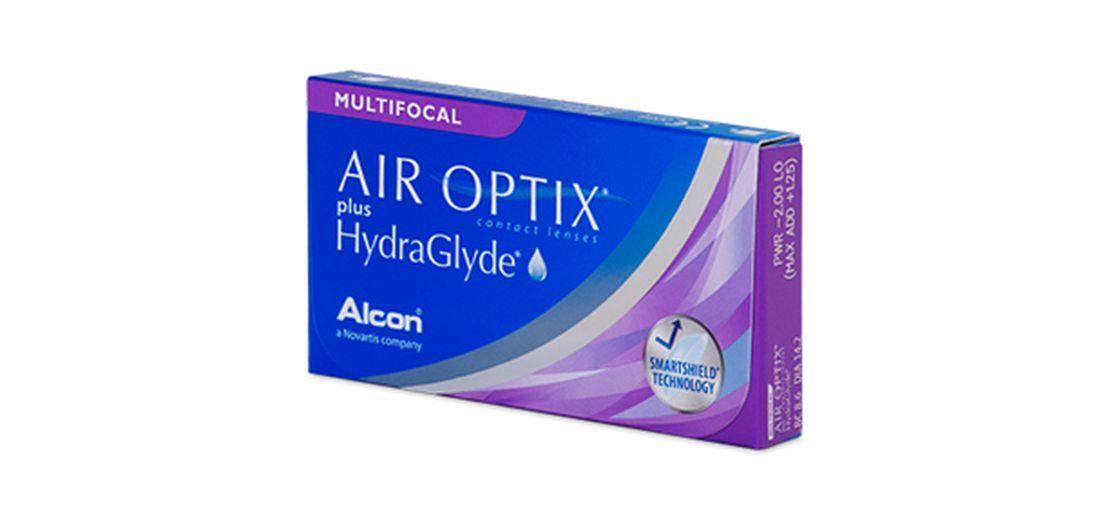 Lentilles de contact Air Optix Plus Hydraglyde Multifocal Medium 6L