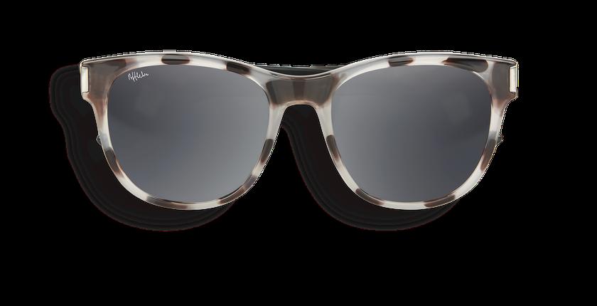 Gafas de sol mujer LORENA carey/negro - vista de frente
