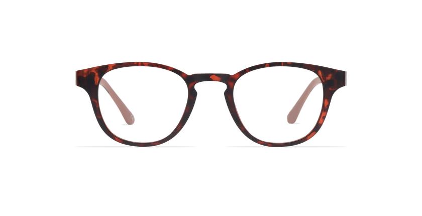 Óculos graduados homem MAGIC 03 tartaruga  - Vista de frente
