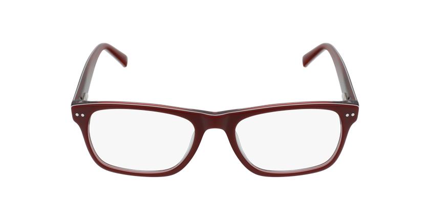 Óculos graduados criança TED RD (TCHIN-TCHIN +1€) vermelho/branco - Vista de frente