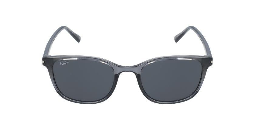 Óculos de sol ALCUDIA GY cristal/cinzento - Vista de frente