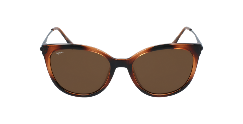 Óculos de sol senhora ALCALA TO tartaruga /preto - Vista de frente