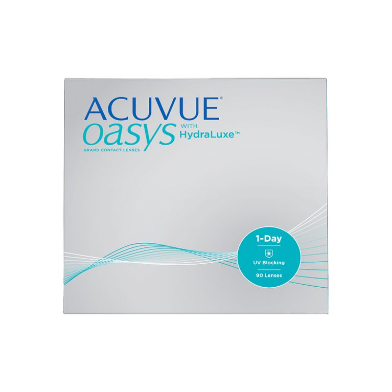 Lentilles de contact Acuvue® Oasys® 1 Day with Hydraluxe™ 90L
