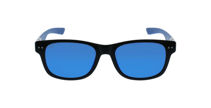 Óculos de sol homem FLORENT POLARIZED BKBL preto/azul - Vista de frente