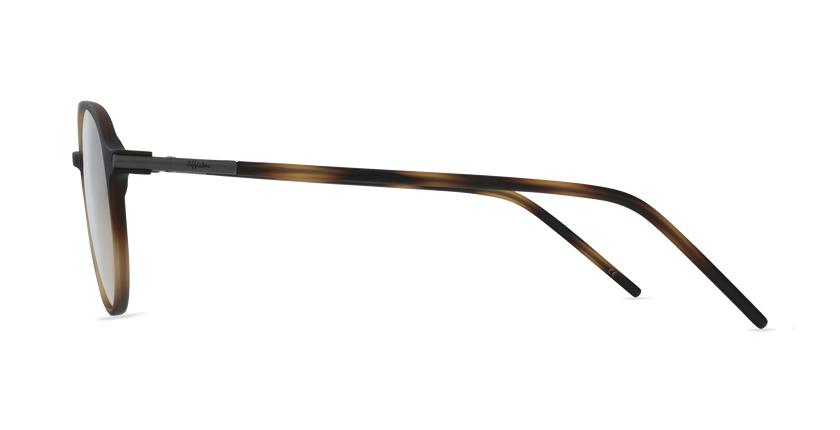 Lunettes de vue TMF74 écaille - Vue de côté