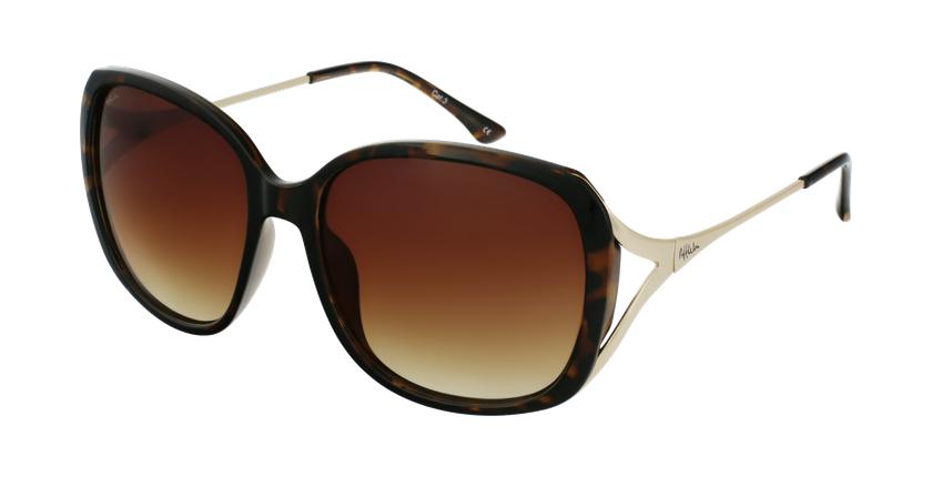 Óculos de sol senhora ROSALES TO tartaruga /dourado - vue de 3/4