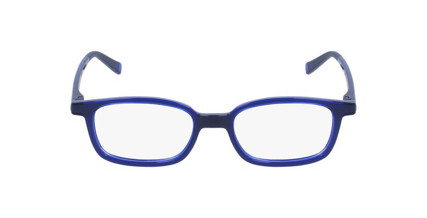 Lunettes de vue enfant RFOP1 noir/bleu - Vue de face