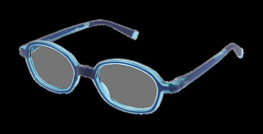 Lunettes de vue enfant RFOM2 bleu/turquoise - vue de 3/4