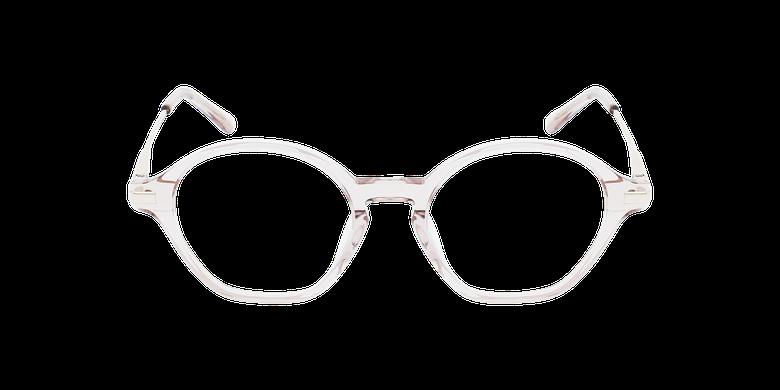 Lunettes de vue femme DAPHNE roseVue de face