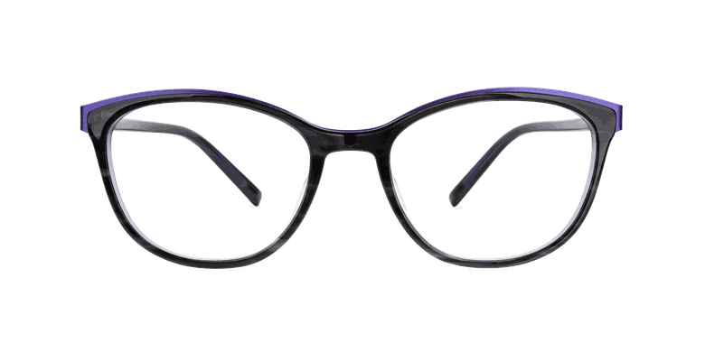 Óculos graduados senhora ALPHA 7 preto