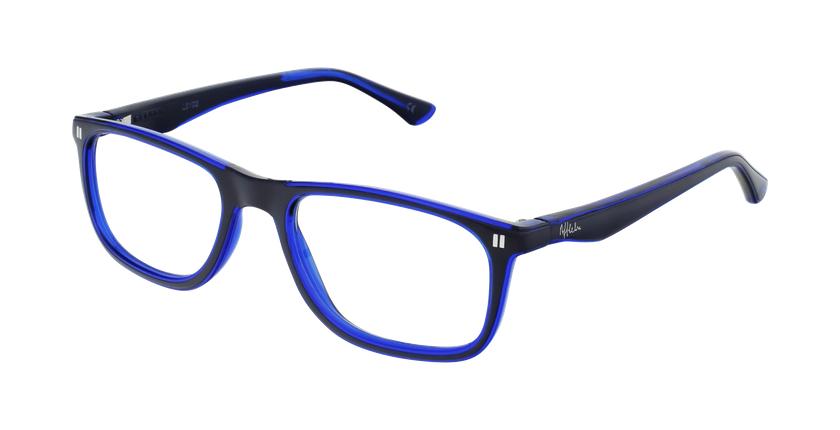 Óculos graduados criança REFORM TEENAGER (J3BL) azul - vue de 3/4