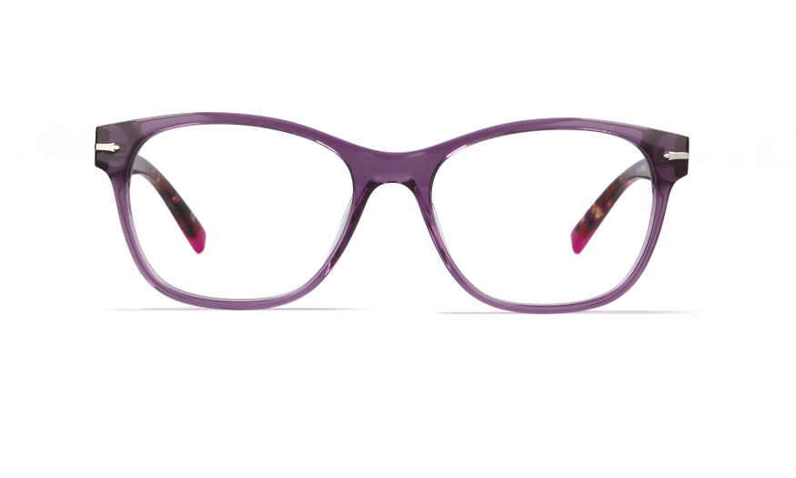Lunettes de vue femme YORKSHIRE violet