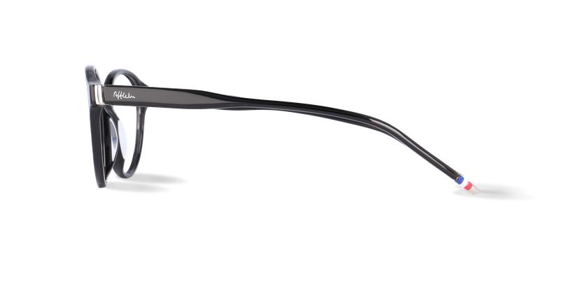 Lunettes de vue homme LIMBA noir - Vue de côté