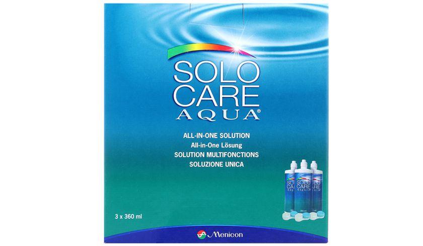 SoloCare Aqua 3x360ml - vue de face
