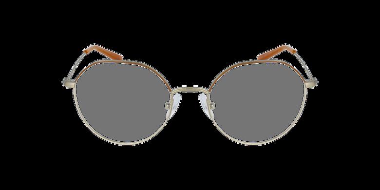 Óculos graduados senhora Anaelle brgd (Tchin-Tchin +1€) castanho/dourado