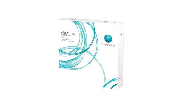 Lentilles de contact Clariti 1 Day multifocale 90L - Vue de face