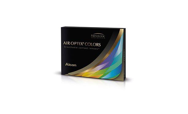 Lentilles de contact Air Optix Color 2L - Vue de face