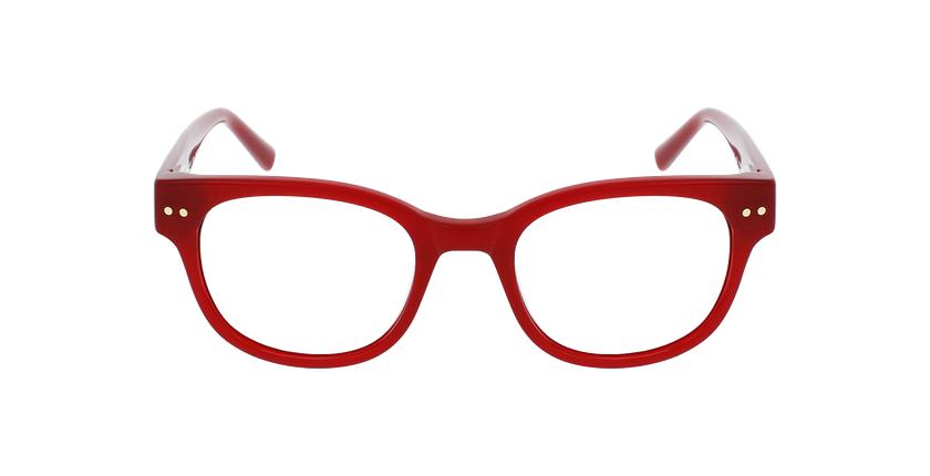 Óculos graduados senhora SWAN RD (TCHIN-TCHIN +1€) vermelho - Vista de frente
