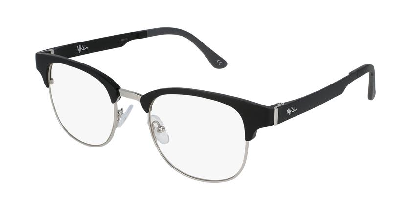 Óculos graduados MAGIC 34 BK BLUEBLOCK - BLOQUEIO LUZ AZUL preto/prateado - vue de 3/4