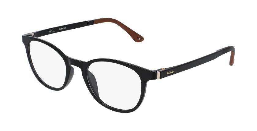 Gafas graduadas mujer MAGIC 18 negro/negro brillante - vue de 3/4