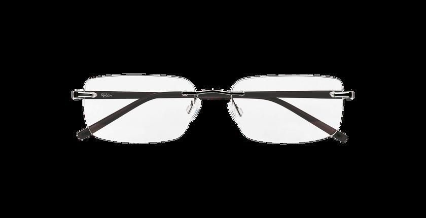 Gafas graduadas hombre LIGHT TONIC plateado - vista de frente