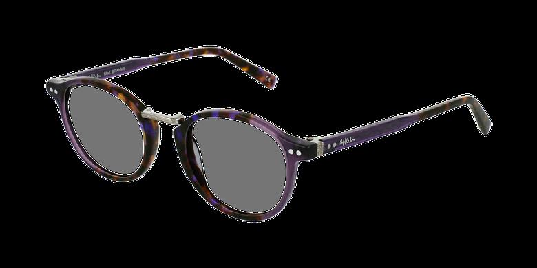 Lunettes de vue BRAHMS violet/écaille