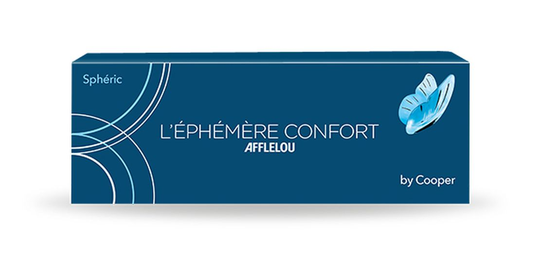 Lentes de contacto Éphémère Confort Esférica - Diárias 30 unid