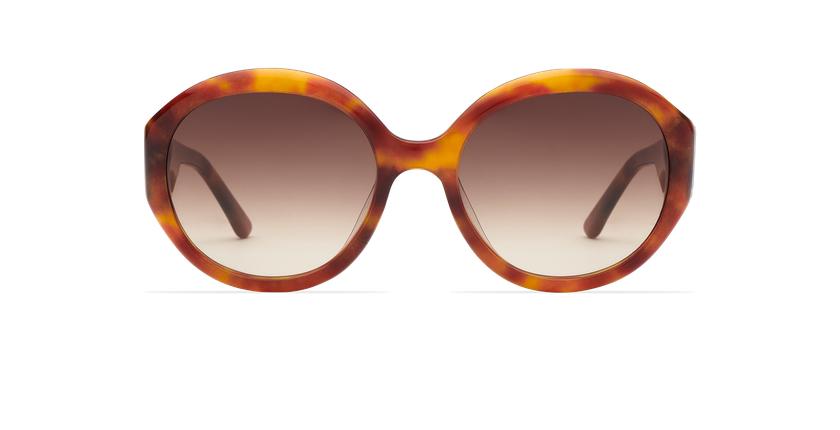 Óculos de sol senhora NAOMIE HV tartaruga  - Vista de frente