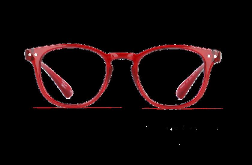 Lunettes de vue homme BLUE BLOCK HOMME rouge - vue de face
