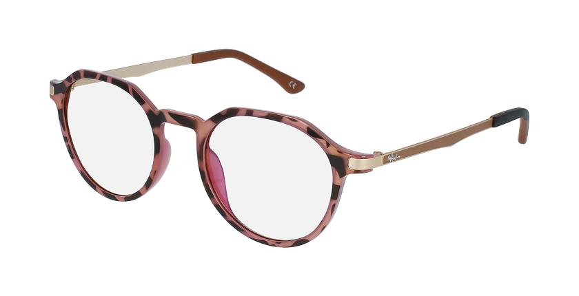 Óculos graduados senhora MAGIC 39 BLUEBLOCK - BLOQUEIO LUZ AZUL tartaruga /rosa - vue de 3/4