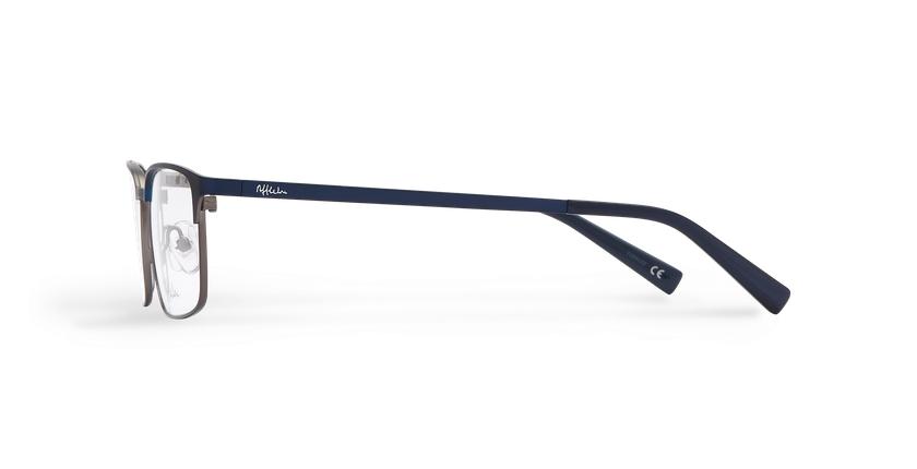 Gafas graduadas hombre ALPHONSE azul - vista de lado