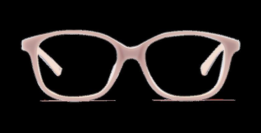 Lunettes de vue femme AMBRE marron - vue de face
