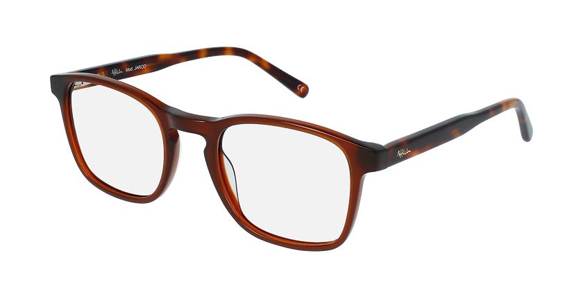 Óculos graduados homem JAROD BR (tchin-Tchin +1€) castanho - vue de 3/4