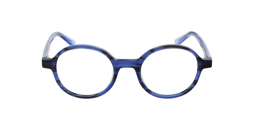 Lunettes de vue femme CAPUCINE bleu - Vue de face