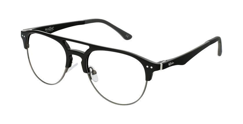 Óculos graduados homem MAGIC 91 Bk ECO FRIENDLY preto/cinzento - vue de 3/4