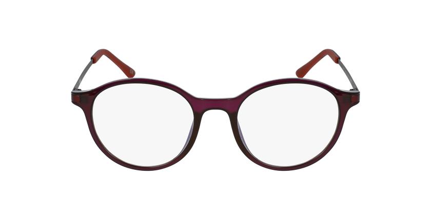 Óculos graduados senhora MAGIC 37 PU BLUEBLOCK - BLOQUEIO LUZ AZUL violeta - Vista de frente