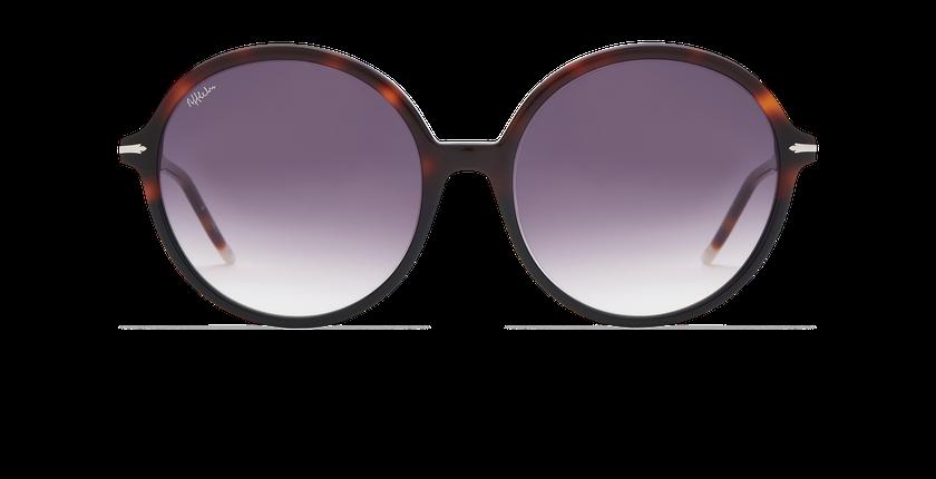 Lunettes de soleil femme KENDAL noir/écaille - Vue de face