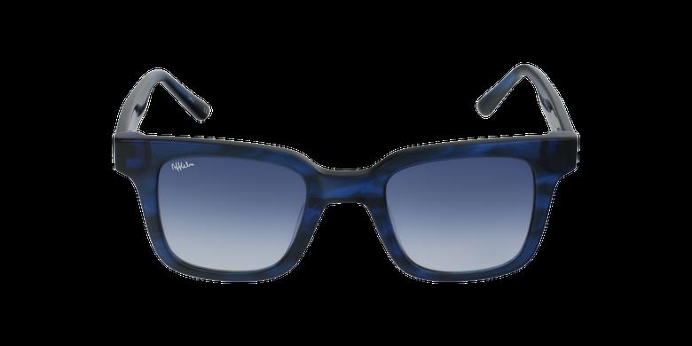 Lunettes de soleil femme KAREN bleu/écaille