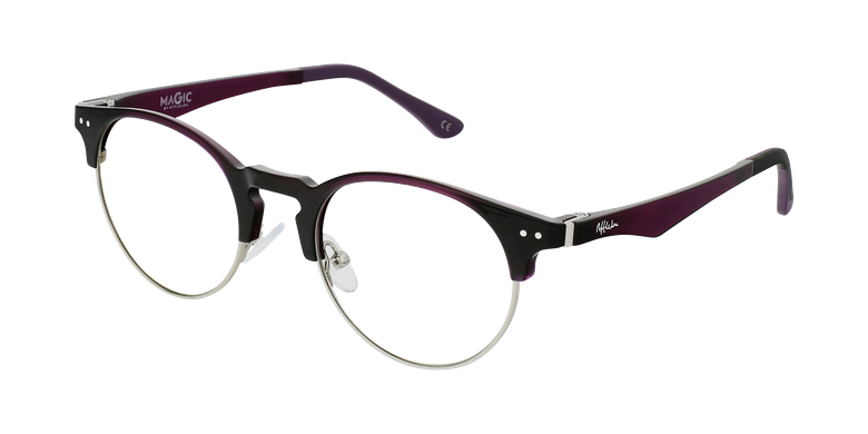 Óculos graduados MAGIC 93 PU ECO FRIENDLY violeta/prateado