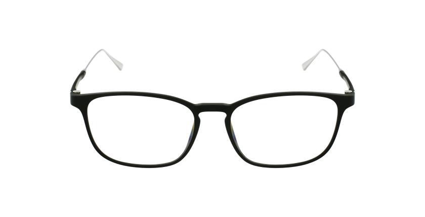 Óculos graduados homem MAGIC 68 BK preto/prateado - Vista de frente