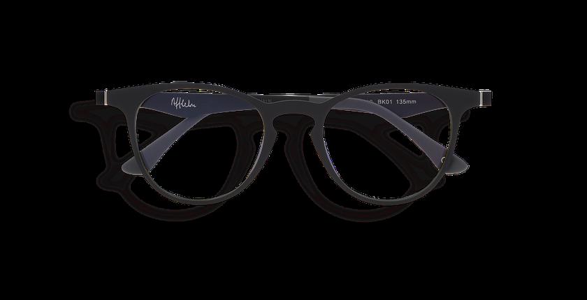 Lunettes de vue MAGIC 27 BLUEBLOCK noir - Vue de face